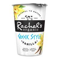 Rachel Organic Greek Style Vanilla Yogurt 450g