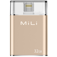 MiLi Smart Flash Drive 32GB Gold