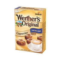 Werther's Candy Cappucino Sugar Free Box 42GR