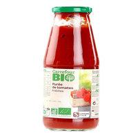 Carrefour Bio Organic Tomato Puree 700g