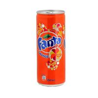 Fanta Soft Drink Can Orange 250ML