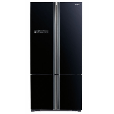 Hitachi-730-Liters-French-Door-Bottom-Loading-Fridge-RWB800PUK5GBK
