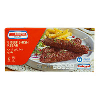 Americana 8 Beef Shish Kebab 320g