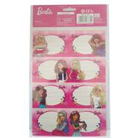 Barbie - Name Label A4 2Sheet