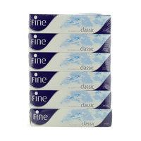 Fine Classic White Tissues 6X100 2Ply