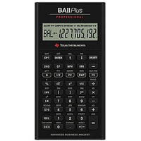 Texas Instruments Financial Professional Calculator Ba-II Plus