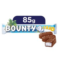 Bounty® Milk Chocolate Trio Bar 85g