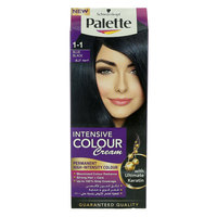 Schwarzkopf Palette 1-1 Blue Black Intensive Colour Cream