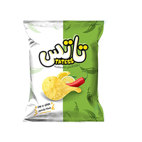 Tattes Chili & Lemon Potato Chips Family Size - 60 gm