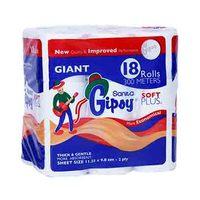 Sanita Gipsy Soft Plus Toilet Tissuses 16+2 Rolls