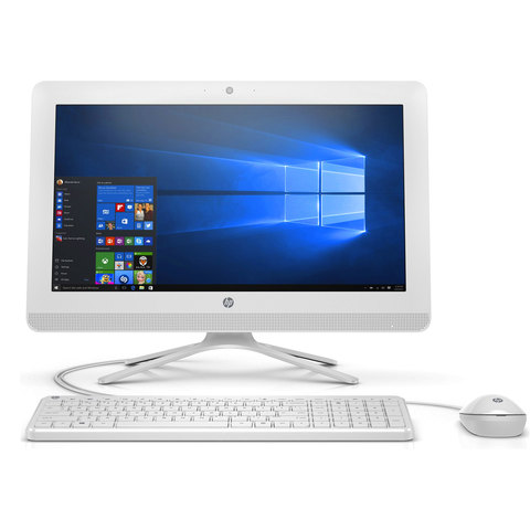 "HP-All-In-One -PC-20-C040-i3-6100-4GB-RAM-1TB-Hard-Disk-19.5""-White"