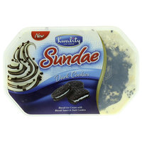 Kwality Ice Cream Sundae Dark Cookies 900ml