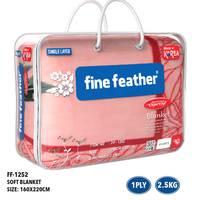 Fine Feather Korean Blanket Single 1Ply 2.2Kg