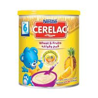 Nestle Cerelac Care Wheat & Fruits After 6 Months 400GR