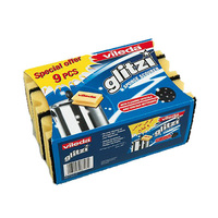 Vileda Glitzi Safe Grip 9 Pieces