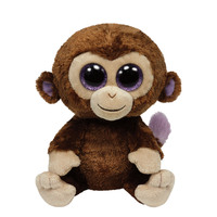 Ty Beanie Boos - Coconut - Monkey Medium 9""