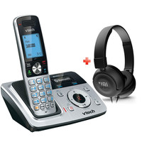 Vtech Cordless Phone DS6321 Silver + JBL Headst T450