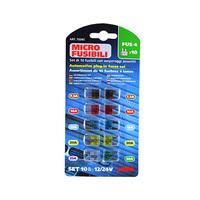 Lampa Micro Fusibili Blade Set Micro Type 10 Pieces