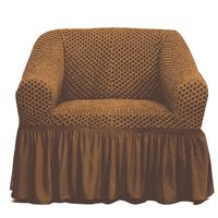 Tendance's Sofa Cover 1 Seater Mid Beige