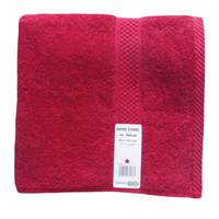 Tendance's Hand Towel 50x100cm Dark Red