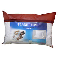 Planet Home Quilted Pillow 50X75 White
