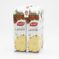 Kdd Pineapple Juice 1 L x 4 Pieces