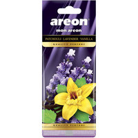 Areon Air Freshener Mon Patch Lavender And Vanilla Cardbaord