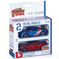 Burago Fire 2Pack Asst1:43