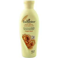 Enchanteur Perfumed Body Lotion Moisture Silk Elegant Musk 250ml
