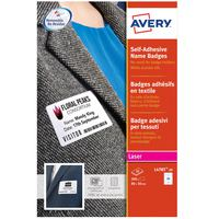 Avery Name Badge Self Adhesive L4785-20