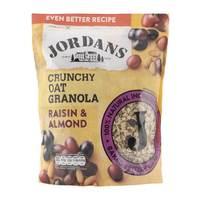 Jordans Crunchy Oat Granola Raisin & Almond 750g
