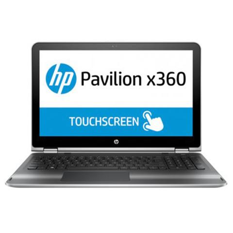 """HP-2-in-1-Pavilion-15-BK000-i3-6100-4GB-RAM-500GB-Hard-Disk-15.6""""-Silver"""