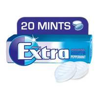 Wrigley's Extra Mints PRO Peppermint, 20 mints