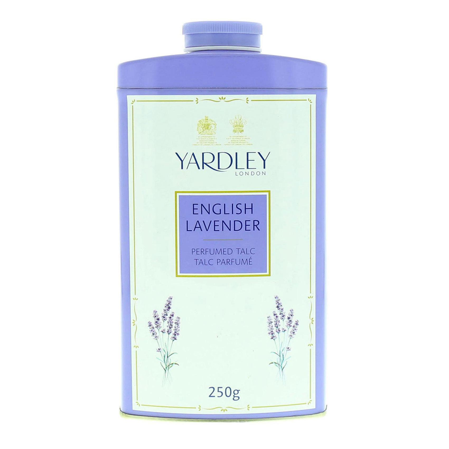 YARDLEY ENGLISH LAVENDER TALC 250G