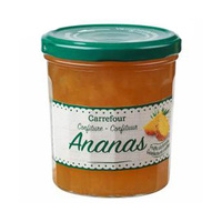 Carrefour Jam Pineapple 370GR