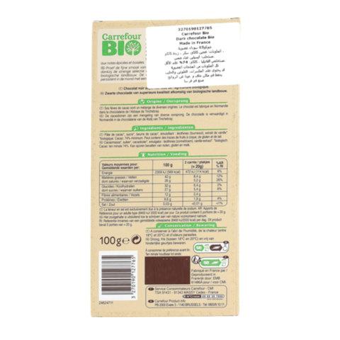 Carrefour-Bio-Organic-Dark-Chocolate-74%-100g