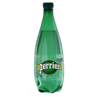 Perrier Natural Sparkling Mineral Water Pet Bottle 1L