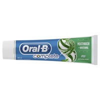 Oral-B Complete Mouthwash + Whitening Toothpaste Extreme Mint 100ml