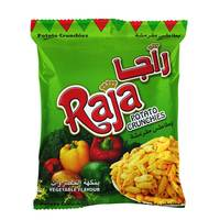 Raja Potato Crunchies Vegetable Flavour 15g