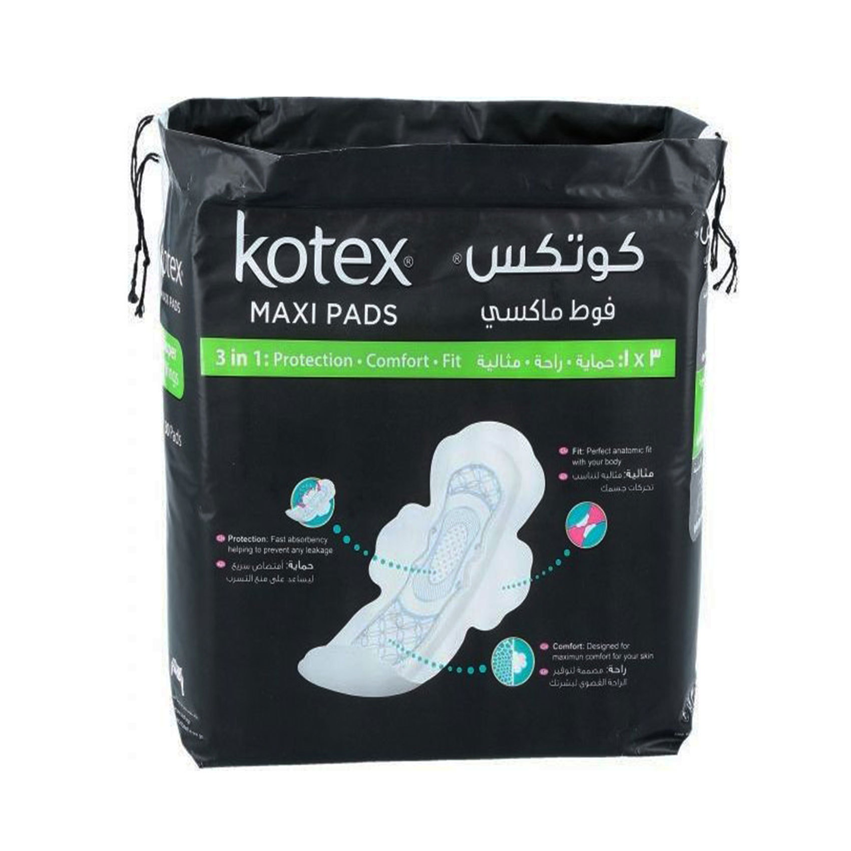 KOTEX MAXI SLIM SW NON COCO 6X30'S