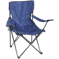 AVILA CAMPING CHAIR53X53X95CM BLUE