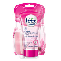 Veet Lotus Milk & Jasmine Fragrance in Shower Hair Removal Cream 150ml