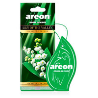 Areon Air Freshener Mon Lily Of The Valley Cardbaord