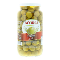 Acorsa Green Whole Olives 950g