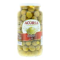 Acorsa Green Whole Olives 950g
