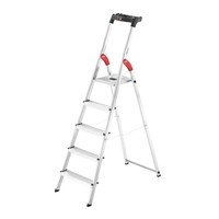 Hailo 5-Step Ladder L60 Easyclix