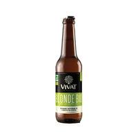 Vivat Bio Blonde Beer 6%V Alcohol 33CL