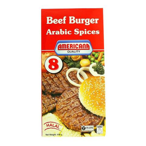 Americana-Beef-Burger-Arabic-Spices-448g