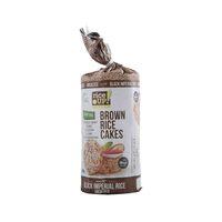 رايس أب براون كعك الأرز السوداء الإمبراطوري غير مملح خالي من الغلوتين 120 غرام