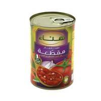 هناء معجون صلصة طماطم مقطعة مع البصل 400 جرام
